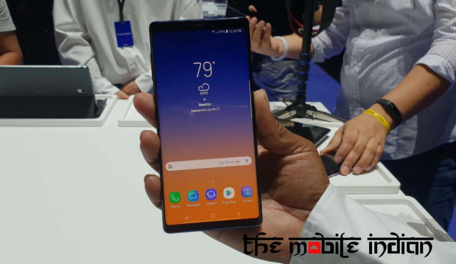 Galaxy Note 9 benchmarked: Falls behind OnePlus 6, iPhone X