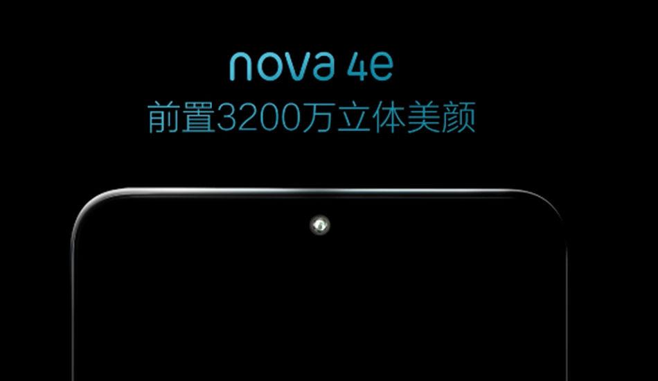Huawei Nova 4e press renders leaked ahead of March 14 launch