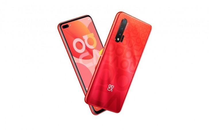 Huawei Nova 6 5G render leaked in Red colour