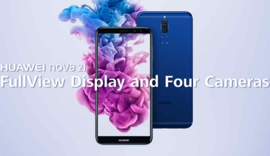 Huawei Nova 2i launched with four cameras and FullView display