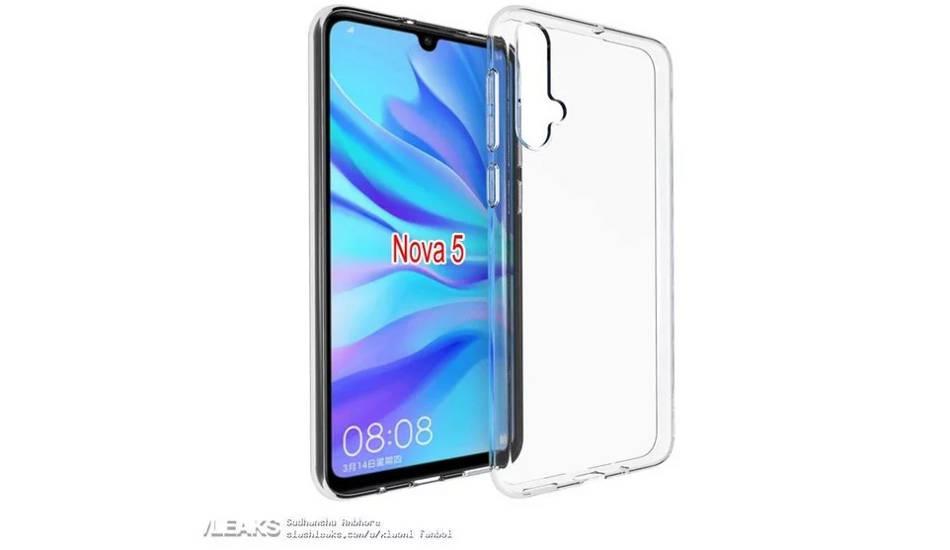 Huawei Nova 5 live photo leaked, Nova 5 Pro storage and color variants also tipped