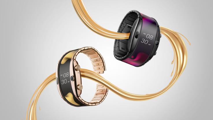 Nubia Alpha foldable smartwatch  announced, India availability doubtful