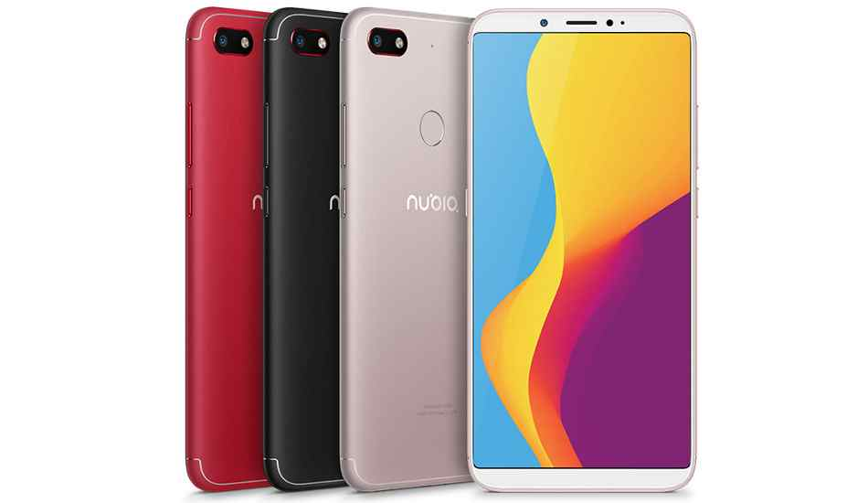 Nubia V18 launched with 6-inch FHD+ display and Snapdragon 625 SoC