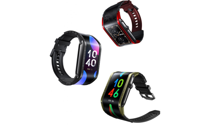 Nubia Watch with flexible AMOLED display announced