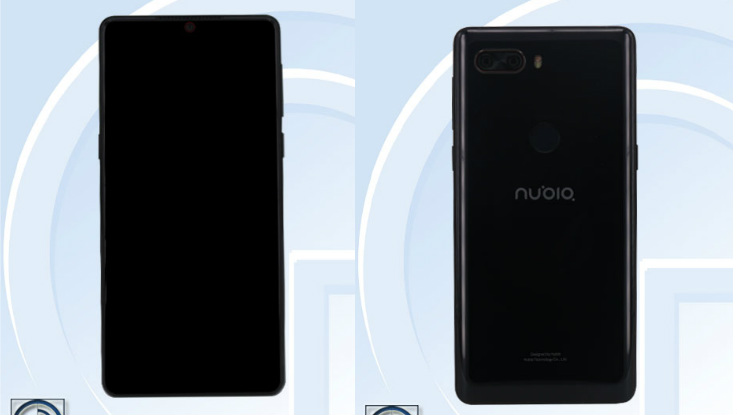 Nubia Z18 with 5.99-inch Full HD+ display, 8GB RAM found listed on TENAA