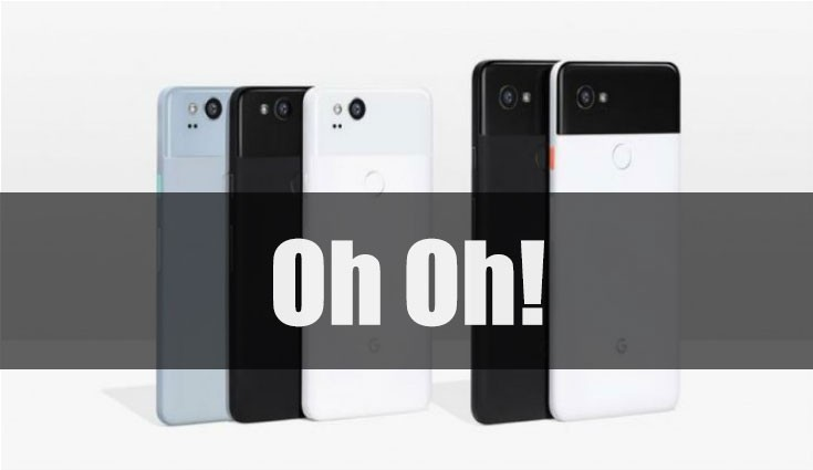 Pixel 2 XL users are reporting display burn-in and clicking sounds issues