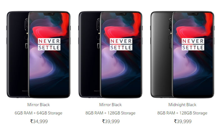 Day 1 sales for OnePlus 6 in India: 27,000 to 29,000 units sold