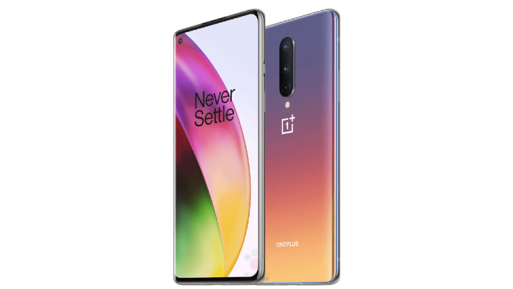 OnePlus 8 renders reveal in Interstellar Glow colour option and more