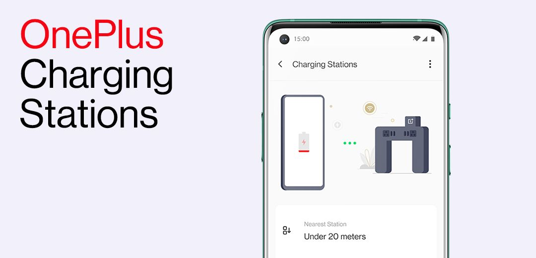 OnePlus phones will now notify you nearby Charging Stations in select airports