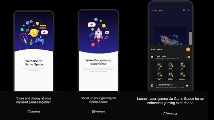 OnePlus Game Space now available on Google Play Store, adds Instant Games and more
