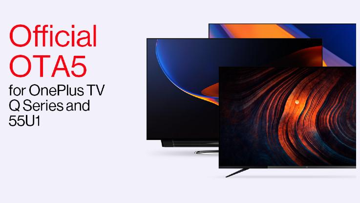 OnePlus TV Q series, 55U1 new update brings Kids Mode, Data Saver Plus and more