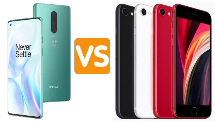 OnePlus 8 vs Apple iPhone SE 2020: Which one is the king of mid-premium segment?