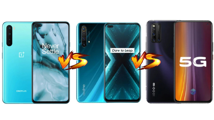OnePlus Nord vs Realme X3 SuperZoom vs iQOO 3: Can OnePlus beat these Titans?