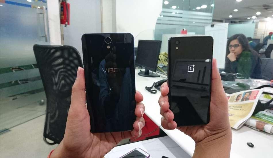 Lenovo Vibe S1 vs OnePlus X