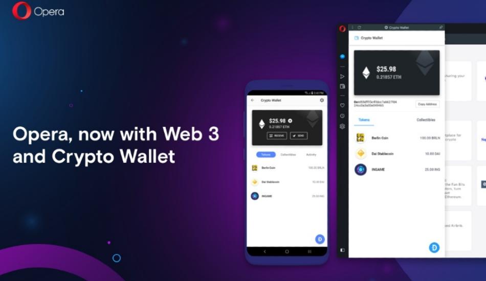 Reborn 3 Desktop web browser with inbuilt Crypto Wallet launched