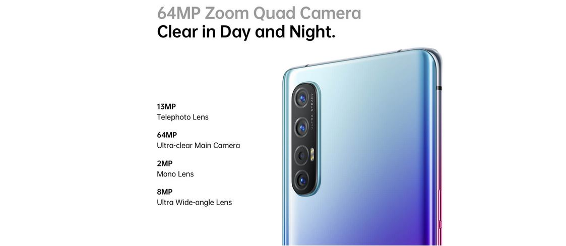 Oppo Reno 3 Pro camera details revealed ahead of launch on March 2