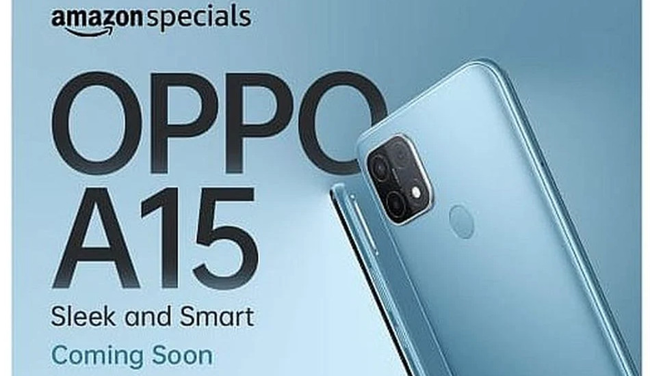 Oppo A15 launched in India with triple rear cameras, MediaTek Helio P35 SoC at Rs 10,990
