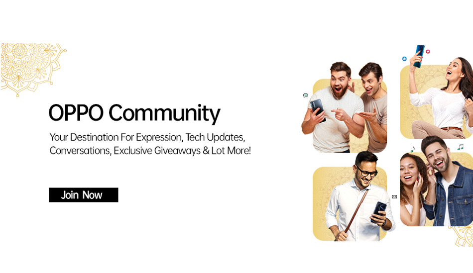 Oppo launches its first ever Community Platform to engage and connect with tech enthusiasts