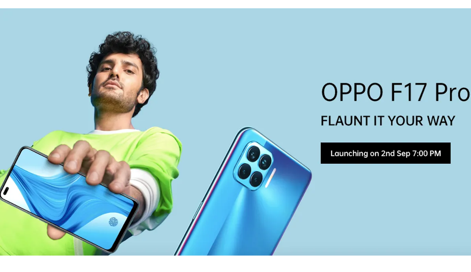 Oppo F17 and F17 Pro to launch in India on September 2