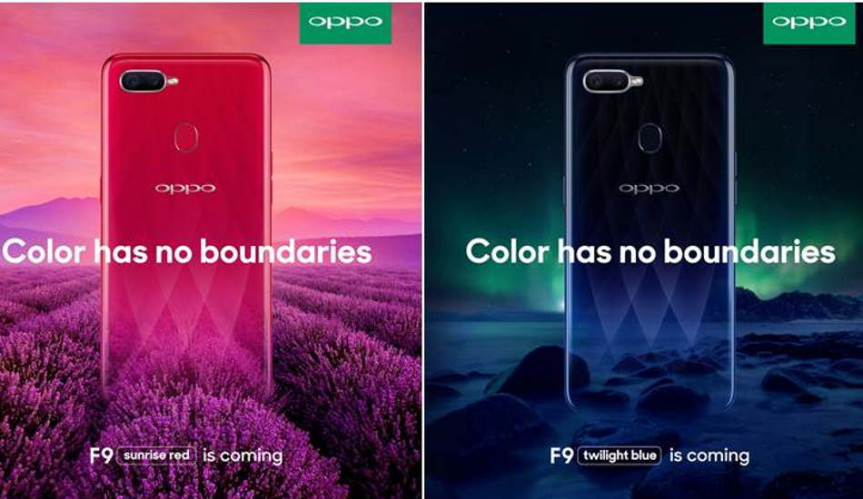Oppo F9 was the most-searched smartphone in 2018: TMI Report 2018 for Oppo