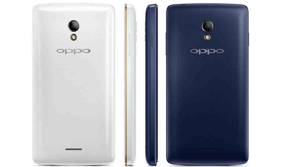 Oppo Joy Plus launched in India for Rs 6,990
