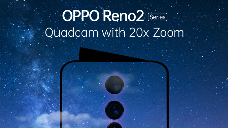 Oppo Reno 2 series with 20X Zoom to launch in India on August 28
