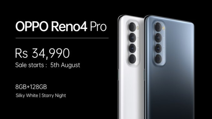 Oppo Reno 4 Pro with quad-camera setup, Snapdragon 720G chipset launched in India