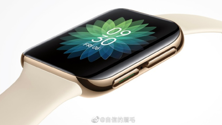 Oppo smartwatch with curved display teased
