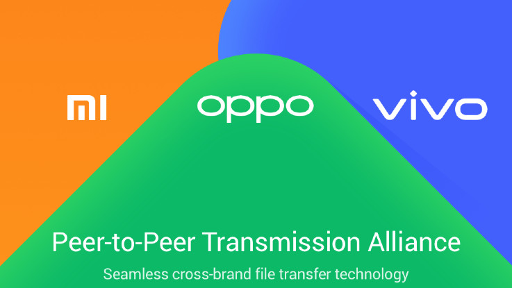 Oppo, Vivo and Xiaomi join hands to transfer files without internet
