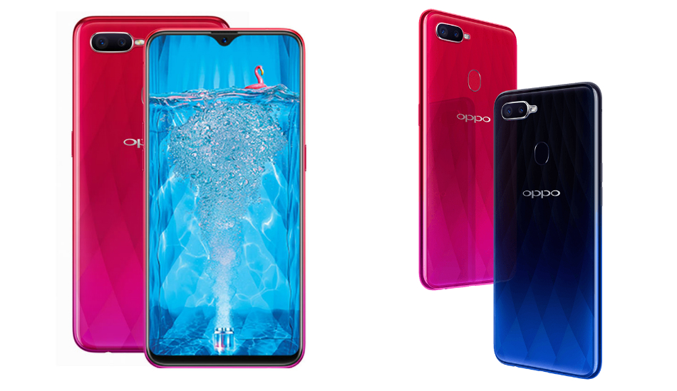 Oppo F9 introduced with Helio P60,  notch shrinks