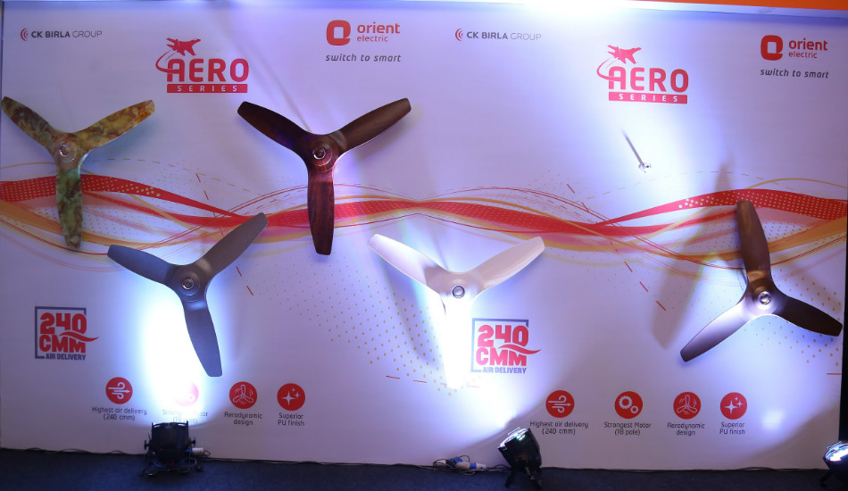 Orient Electric launches Aerostorm ceiling fan in India for Rs 5,399