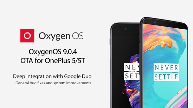 OnePlus 5, OnePlus 5T gets OxygenOS 9.0 update with Google Duo integration