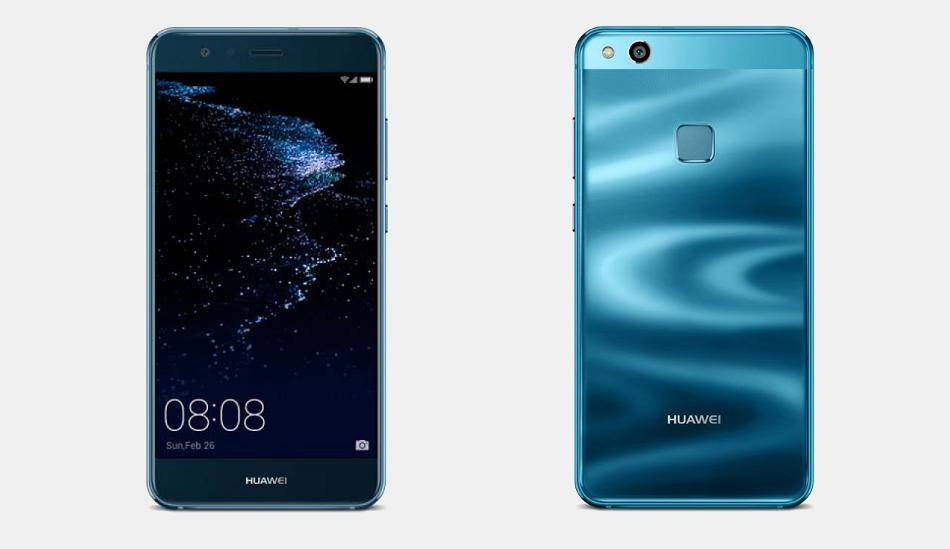 Huawei P10 Lite Sapphire Blue colour variant goes on sale