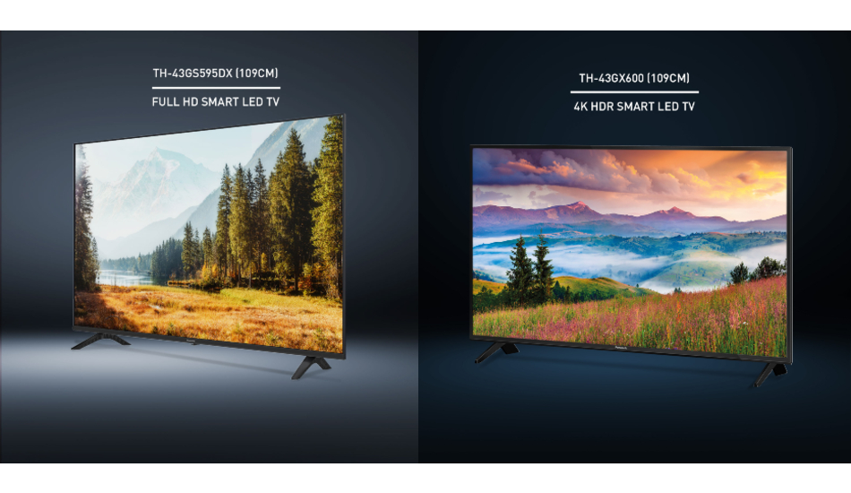 Panasonic unveils new 4K Ultra HD TVs in India starting at Rs 50,400
