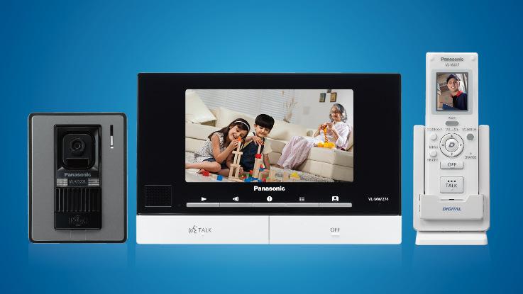 Panasonic introduces wireless video door phone in India