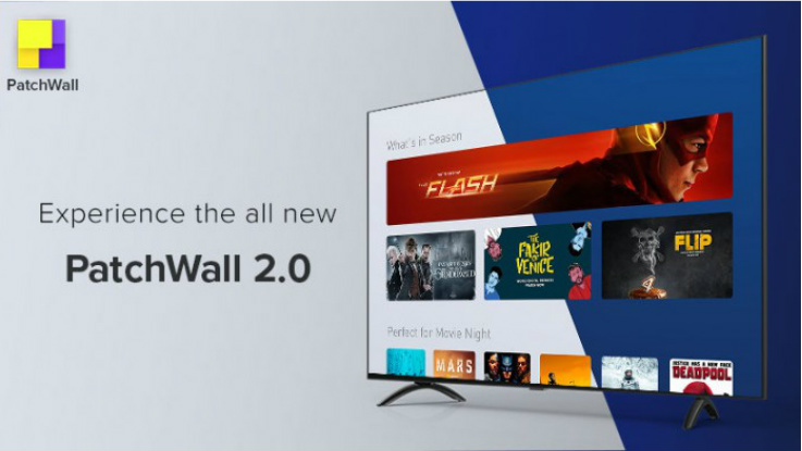 Xiaomi starts rolling out PatchWall 2.0 on its Smart TVs in India