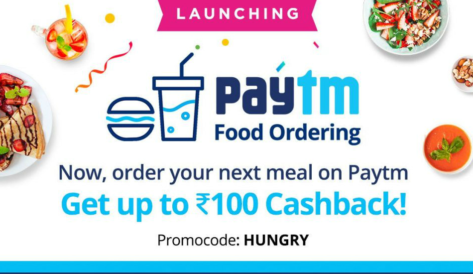 Paytm, Zomato join hands to introduce Online Food Ordering