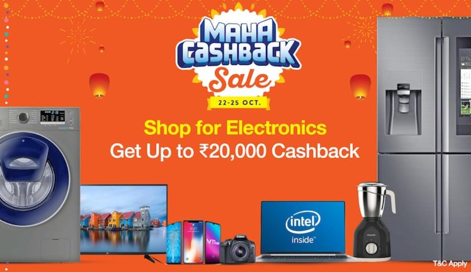 Paytm Maha Cashback Sale comes back for Round 2, starts today