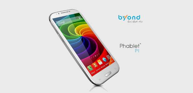 Byond Phablet PI launched for Rs 10,999