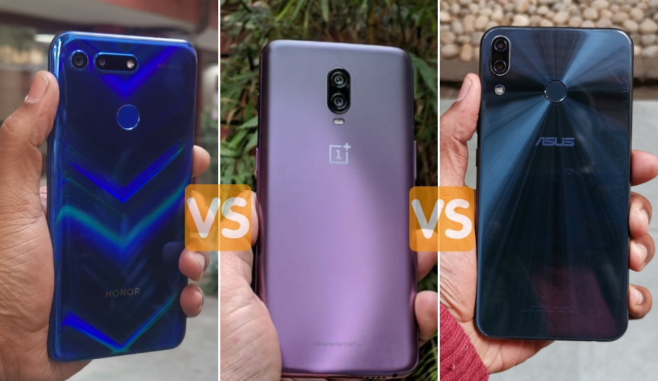 Honor View 20 vs OnePlus 6T vs Asus Zenfone 5Z Camera Comparison: Who is the No 1 in Photography?