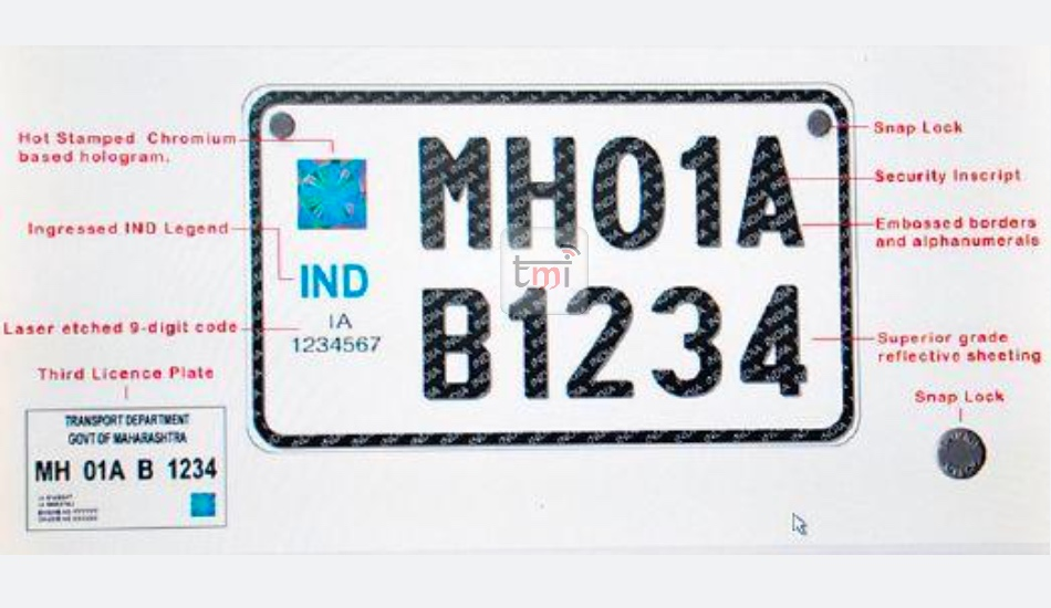 New factory-fitted High Security Registration Plates will subsidies four-wheelers price in India