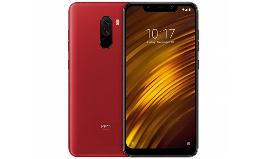 Xiaomi Poco F1 Rosso Red Edition to go on sale on October 11 in India