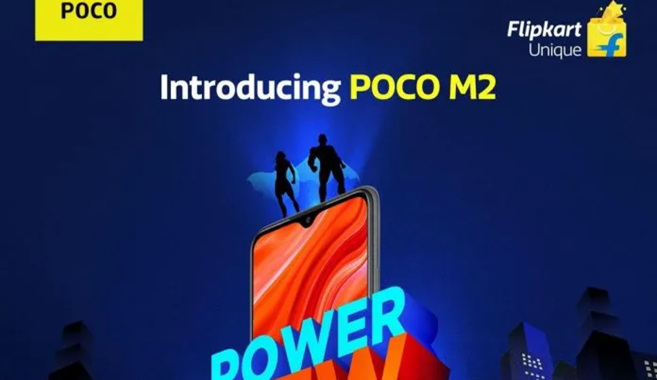 Poco M2 to go on sale for the first time today via Flipkart