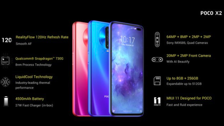 Poco X2 gets Android 10 based MIUI 12 update in India