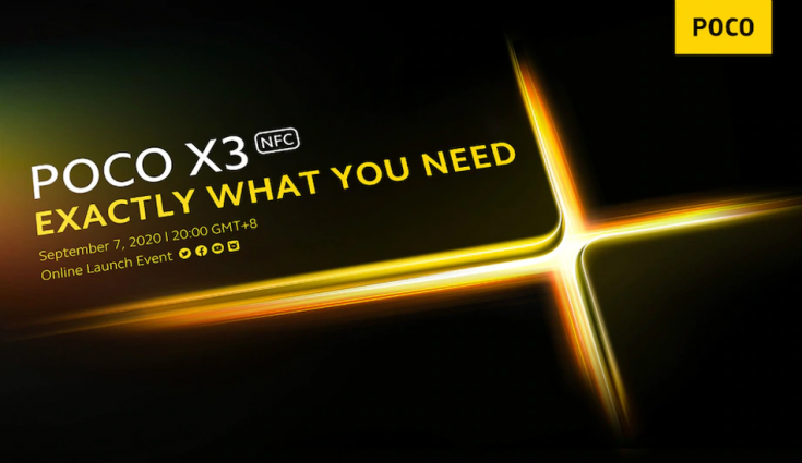 Poco X3 NFC alleged price, specifications and more surfaced online