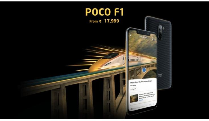 Poco F1 now available with an additional discount of up to Rs 2,000