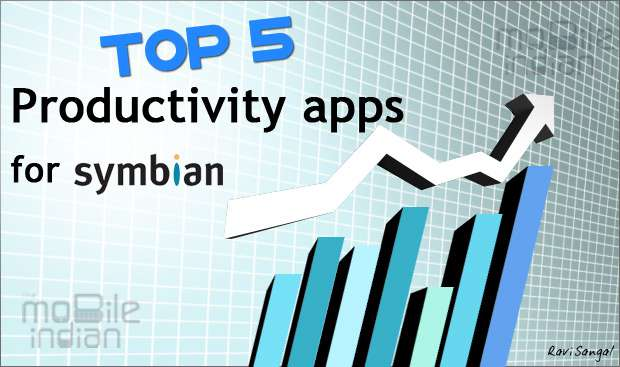 Top 5 productivity apps for Symbian devices