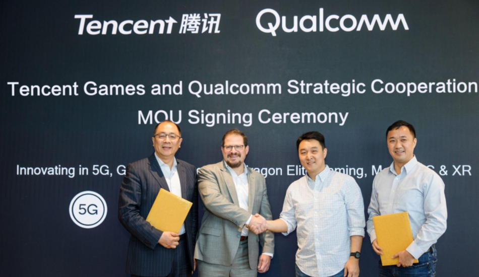 Qualcomm, Tencent team up to develop a 5G-enabled gaming smartphone