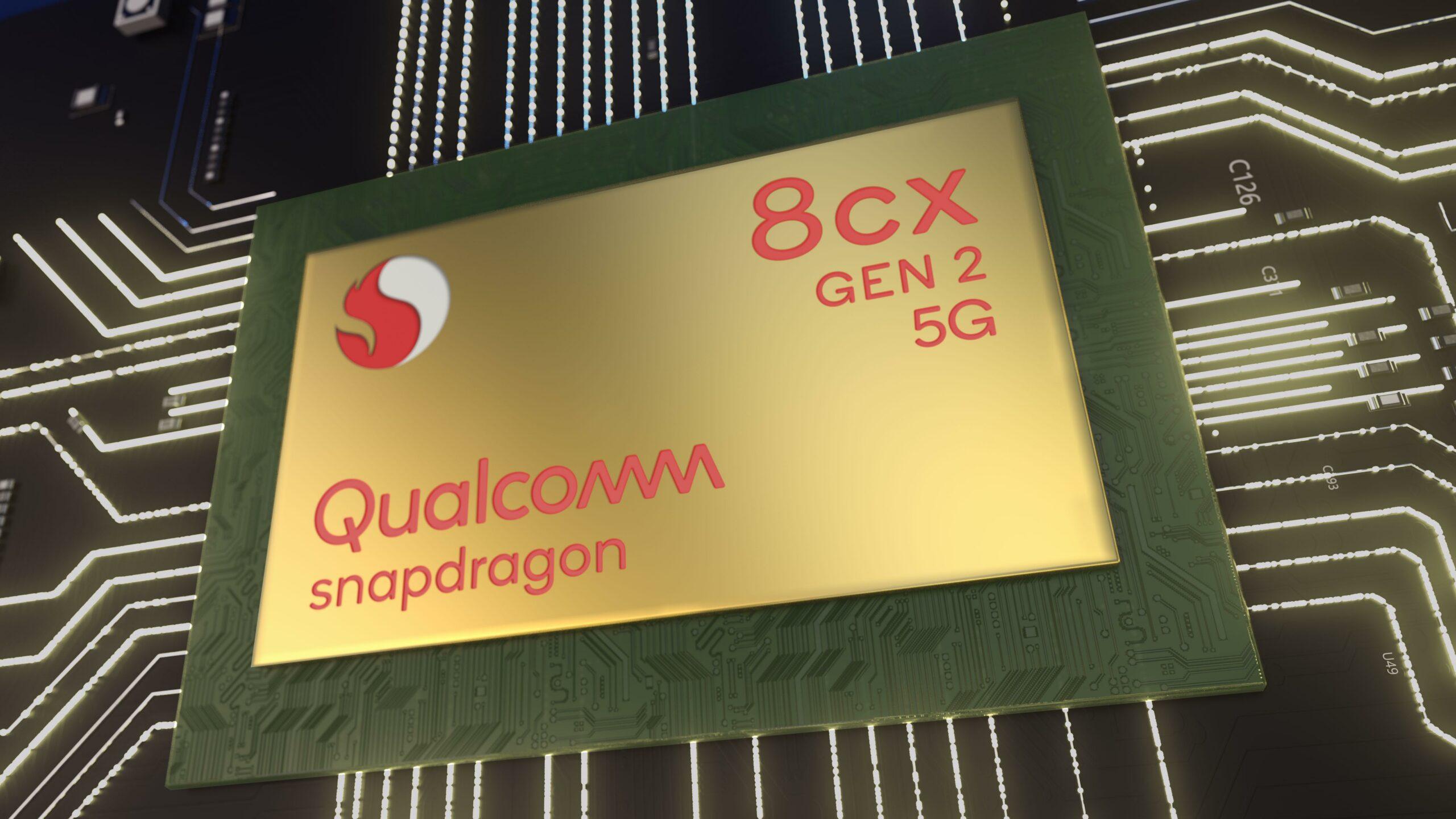 Qualcomm Snapdragon 8cx Gen 2 5G 7nm Compute Platform announced