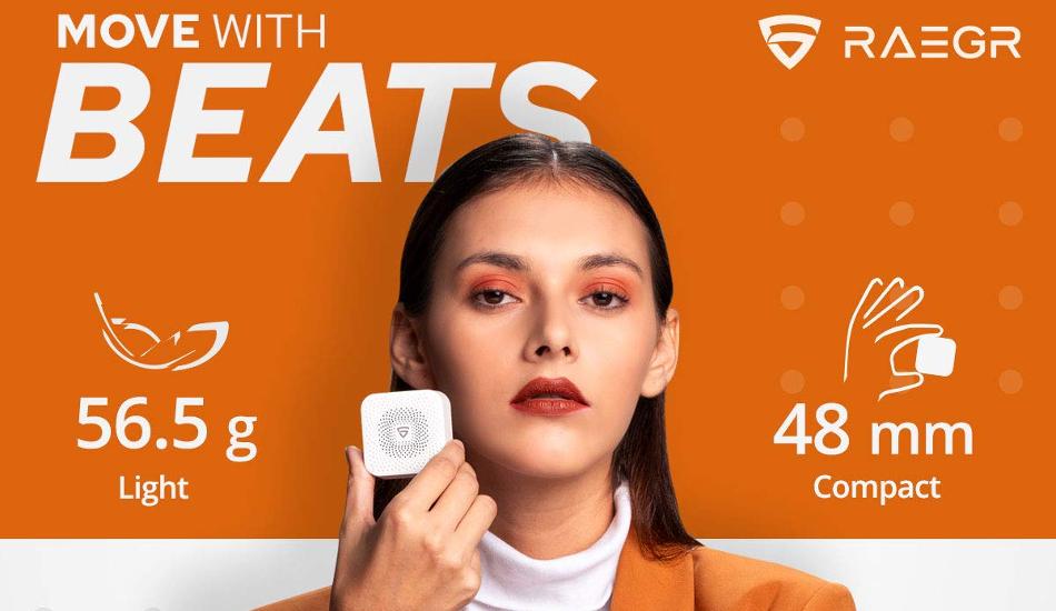 RAEGR launches AirDrums 400 TWS Mini Bluetooth Speaker in India